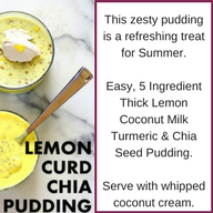 LEMON CHIA PUDDING